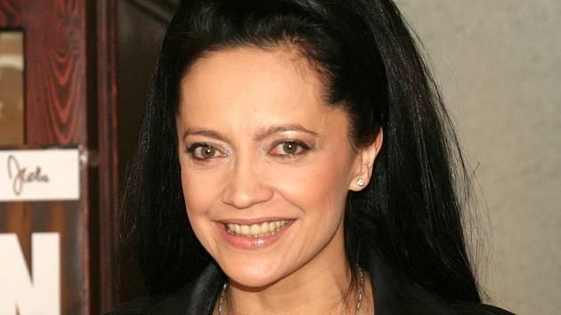 Zpěvačka Lucie Bílá
