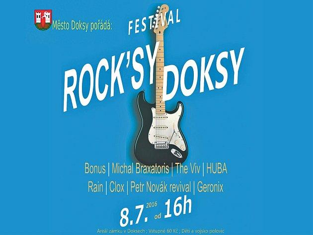 Festival Rock´sy Doksy startuje 8. července