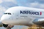 Letadlo A380 v barvách Air France.