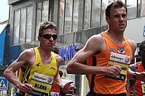 Na startu bude chybět trojnásobný mistr Pavel Faschingbauer )vpravo), největším konkurentem tak pro Štefka bude jeho oddílový kolega Jan Bláha (vlevo), trojnásobný mistr republiky a loni stříbrný.