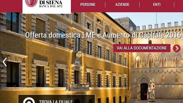 banka Monte dei Paschi di Siena