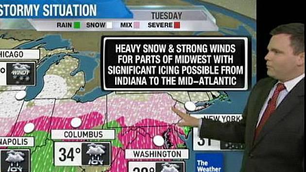 Spojené státy tento týden možná čeká sněhová bouře historických rozměrů. Mohla by zasáhnout až třetinu obyvatel země, tedy kolem 100 milionů lidí.