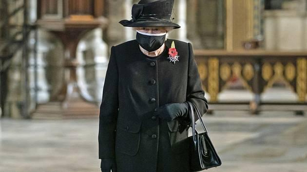 Alžběta II. ve Westminsterském opatství