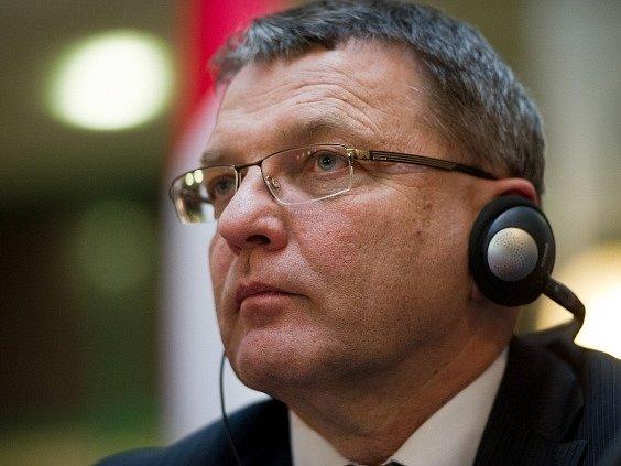 Ministr zahraničních věcí Lubomír Zaorálek.