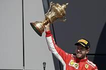 Sebastian Vettel v barvách Ferrari