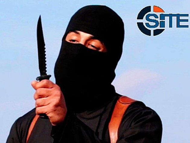 """Britský radikál Mohammed Emwazi přezdívaný světovými médii """"džihádista John""""."""
