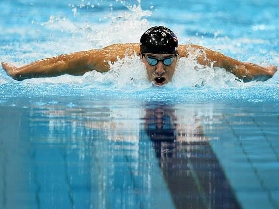 Michael Phelps ve svém posledním olympijském závodě