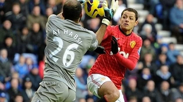 Javier Hernandez z Manchesteru United potvrdil střelecký apetit.