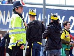 Policejní složky mají v Londýně plné ruce práce.