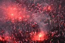 Pochod nezávislosti v ulicích Varšavy
