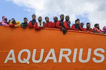 Humanitární plavidlo Aquarius