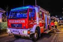 Němečtí hasiči - ilustrační foto