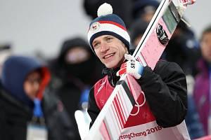 Skokan na lyžích, Roman Koudelka.