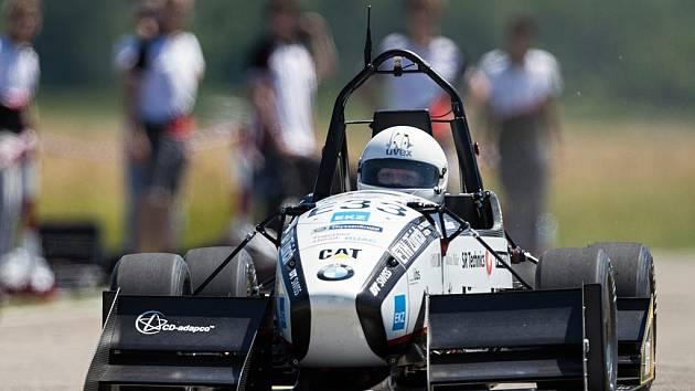 Studenti z Curychu vytvořili rekord ve zrychlení elektromobilu.