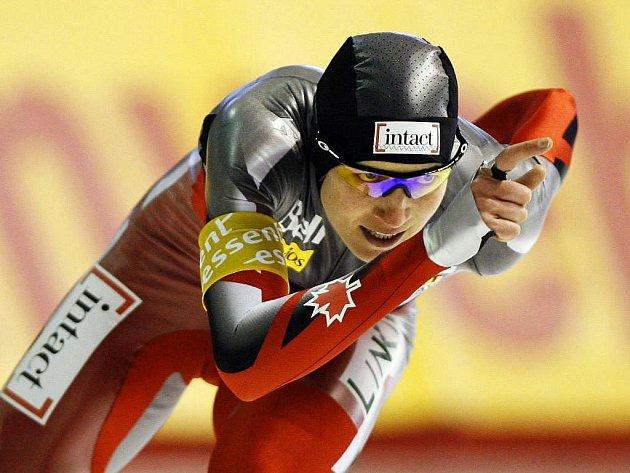 Závod na 1500 metrů se stal kořistí Kristiny Grovesové z Kanady.