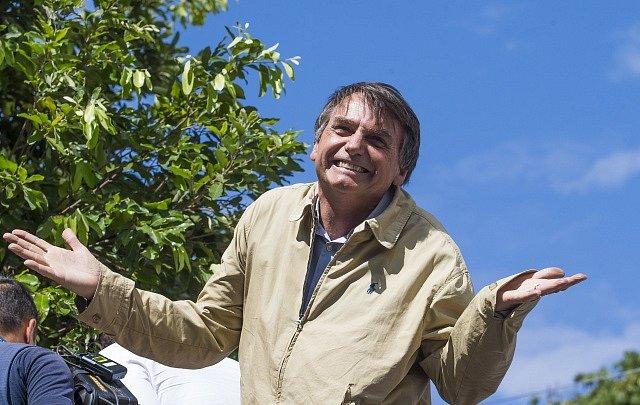 Brazilský prezident Jair Bolsonaro