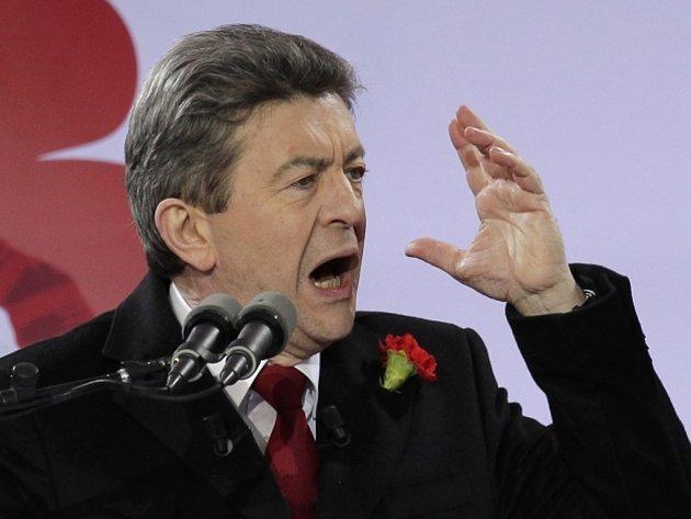 Někdejší kandidát na francouzského prezidenta a evropský poslanec Jean-Luc Mélenchon.