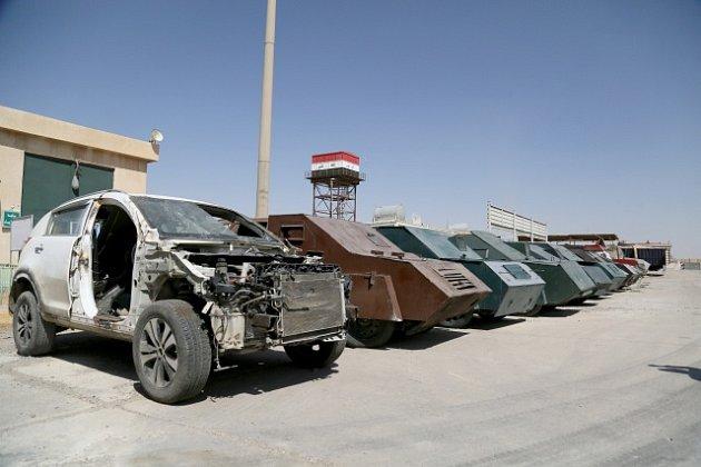 Obrněné sebevražedné automobily byly připravené k akci