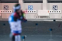 Závod SP v biatlonu ve sprintu na 10 km mužů v Novém Městě na Moravě.