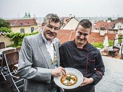 Pavel Maurer představil 20. května na tiskové konferenci IX. ročník Prague Food Festivalu.
