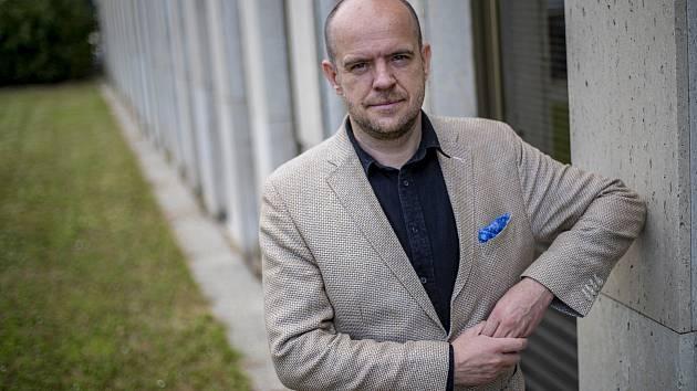 Polský spisovatel Witold Szablowski.