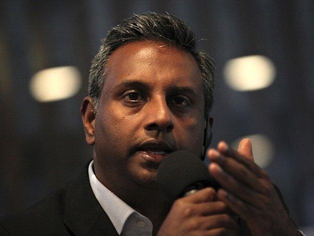 Generální sekretář Amnesty International Salil Shetty.