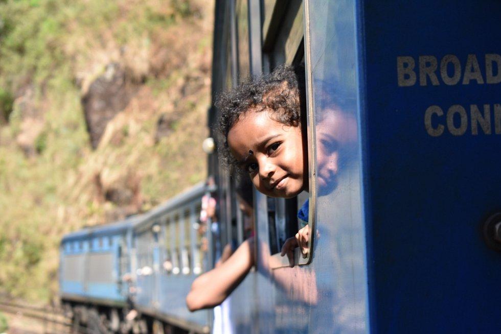 Oblíbená vlaková linka z Kandy do Elly