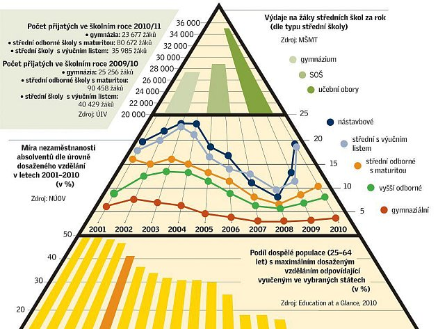 Školy - infografika - náhled.
