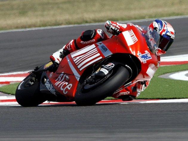 Australan Casey Stoner na Ducati.