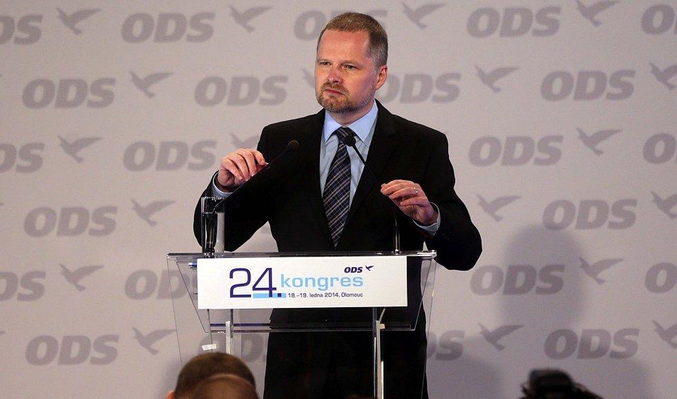 Petr Fiala, kongres ODS v Olomouci