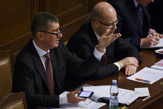 Jednání Poslanecké sněmovny o rozpočtu na rok 2015
