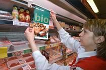 Prodej biopotravin. Ilustrační foto