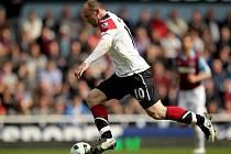 Wayne Rooney zaznamenal proti West Hamu hattrick.
