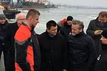 Ministři zahraničí České republiky, Ukrajiny a Dánska