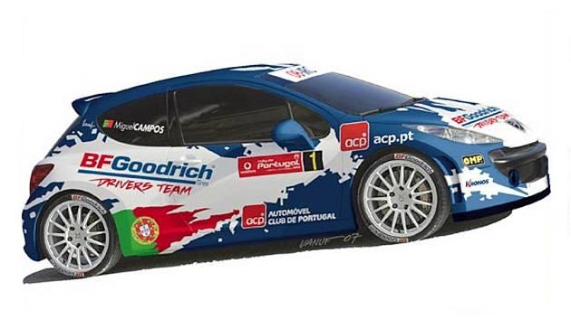 Za BF Goodrich Drivers Team pojede v Portugalsku Miguel Campos.