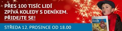 Česko zpívá koledy - pozvánka - banner