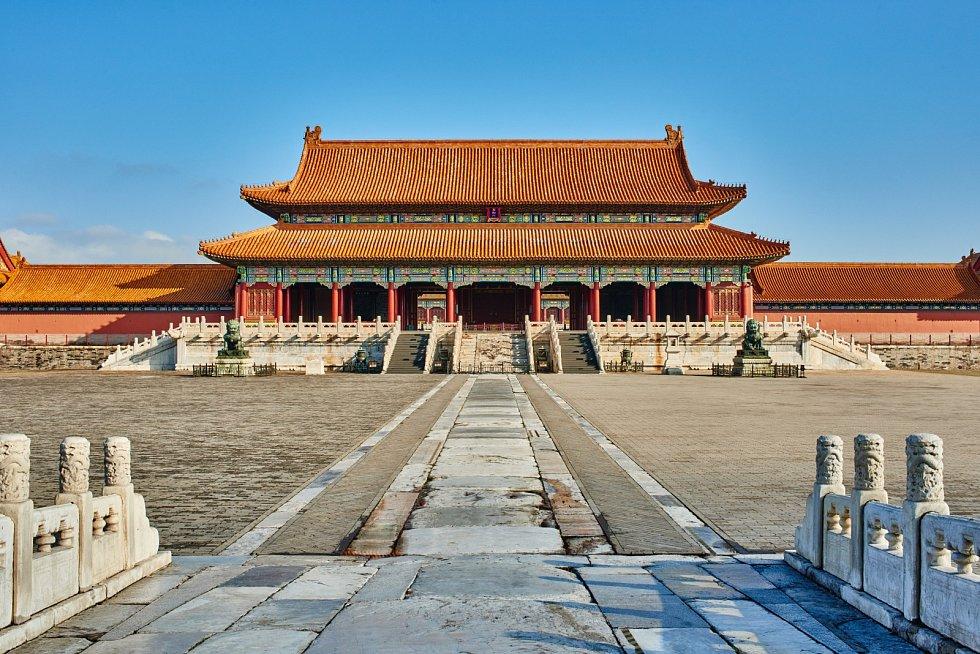 Zakázané město v čínském Pekingu