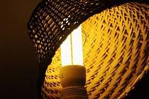 Úsporná žárovka, lampa - ilustrační foto