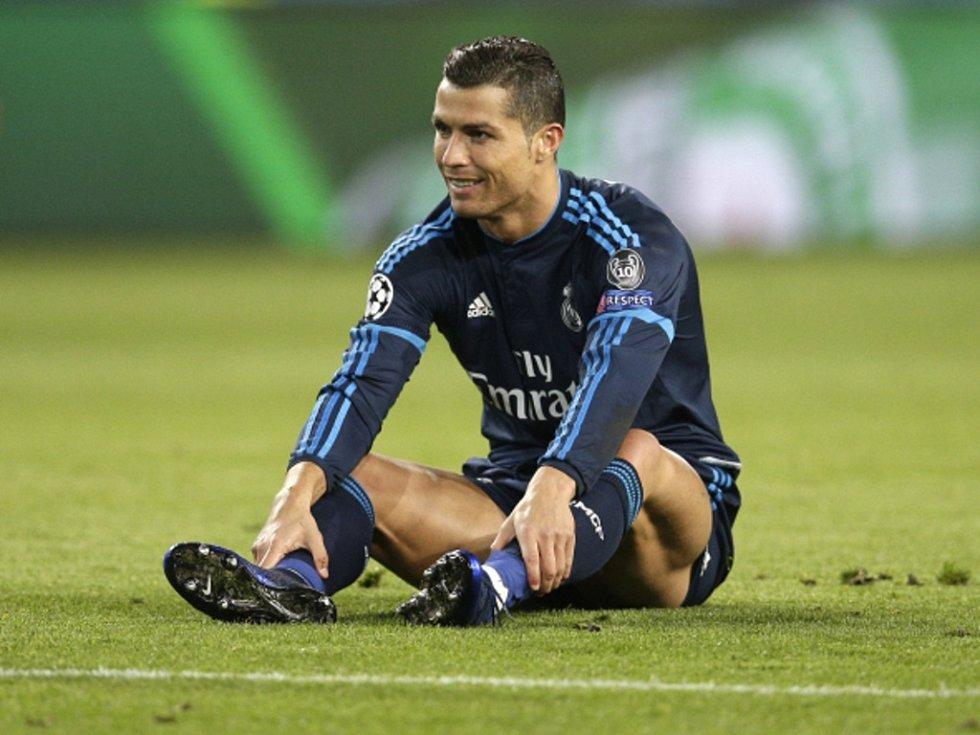 Cristiano Ronaldo z Realu Madrid.