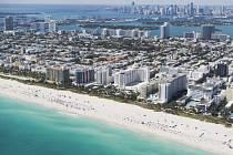 Pláž v Miami na Floridě. Ilustrační foto