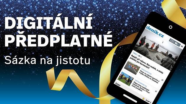 Digitální předplatné Deník.cz jako vánoční dárek.
