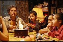 David Prachač hraje ve filmu terénního sociálního pracovníka, ktzerý se snaží romské matce Horváthové se sedmi dětmi pomáhat.