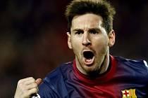 Fenomenální argentinský střízlík Lionel Messi opět rozhodl o vítězství Barcelony.