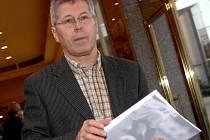 Bývalý předseda komise rozhodčích Luďek Macela.