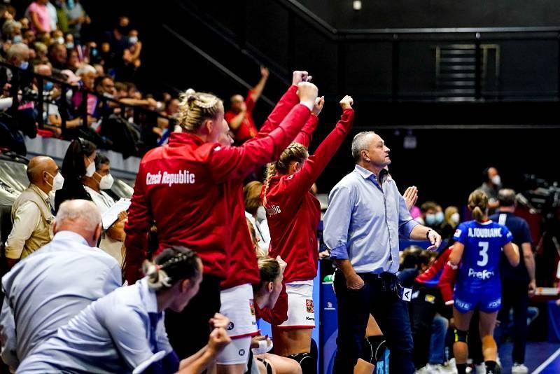 Kvalifikační utkání o postup na ME 2022 Francie - ČR.