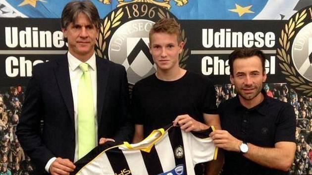 Jakub Jankto při přestupu do Udinese Calcio.