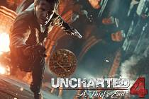 PlayStation 4 hra Uncharted 4: A Thief's End.