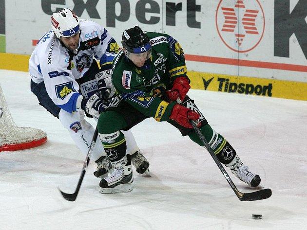V západočeském derby porazili hokejisté Plzně Karlovy Vary.