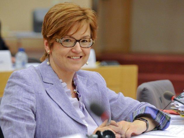 Šéfka výboru europarlamentu pro rozpočtovou kontrolu Ingeborg Grässleová.