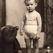 Jakub Sviták asi ve dvou letech